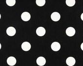 Black and White Polka Dot Napkins Wedding Table Centerpiece Linens Polka Dot Home Decor Black Decoration