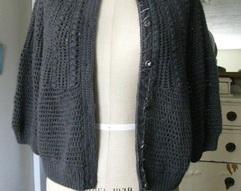 20% OFF!!  Vintage Style Ann Taylor Cropped Sweater