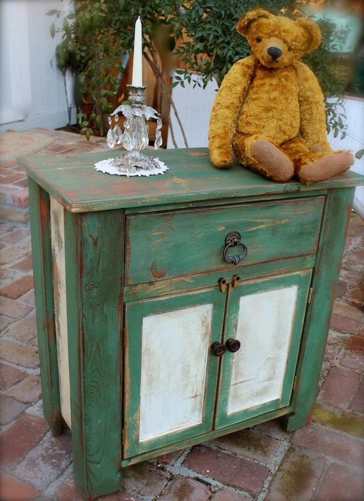 wood furniture rustic table handmade honey 39 s by honeystreasures