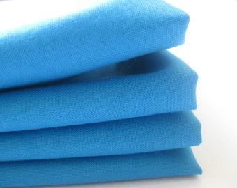 Cloth Napkins - Cerulean - 100% Cotton