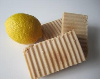 Sage and Lemongrass Cold Process Goatmilk Soap