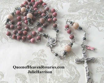 Queen of Heaven BREAST CANCER ROSARY