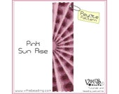 Peyote Bracelet Pattern: Pink Sun Rise - INSTANT DOWNLOAD pdf - New Discount codes