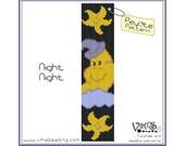 Peyote Stitch Pattern:  Night Night bracelet - INSTANT DOWNLOAD pdf - New Discount codes