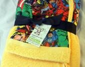 Super Hero Hooded Towel for Toddler/Children
