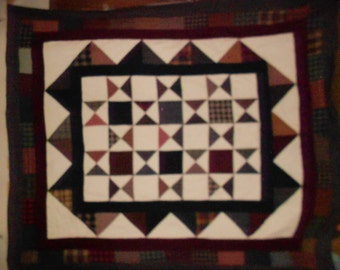 Queen Size Bed Quilt Woven feels like flannel 55