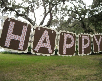 Oh Happy Day Banner