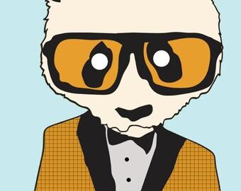 panda bear CONTEMPORARY ART PRINT