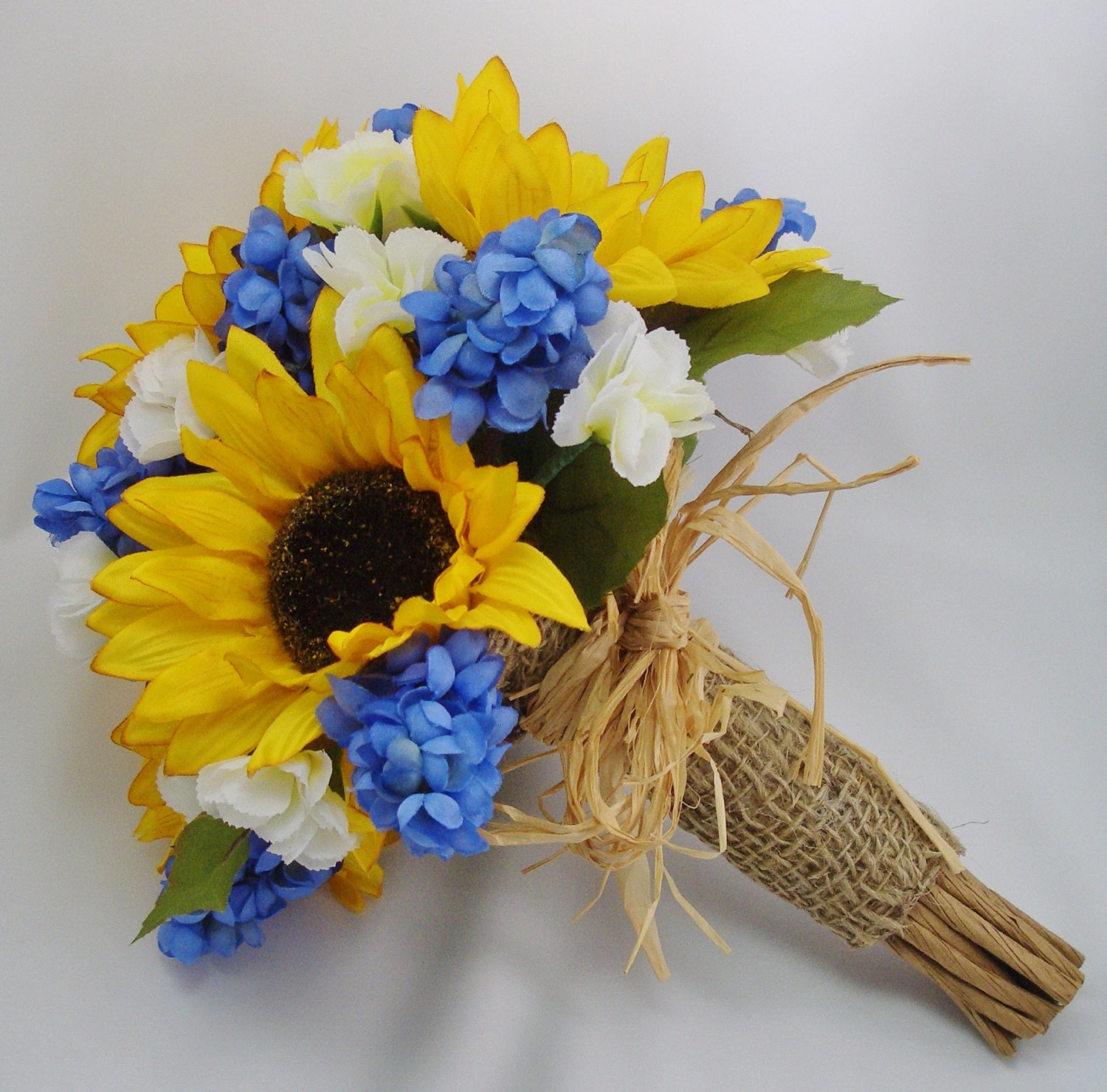 Bridesmaid Bouquets Sunflowers : Sunflower bridal bouquet fft original design by