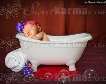 bathtub photo prop etsy uk. Black Bedroom Furniture Sets. Home Design Ideas