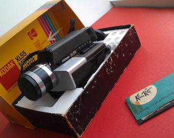 Vintage Kodak XL55 Movie Outfit Camera 1970s