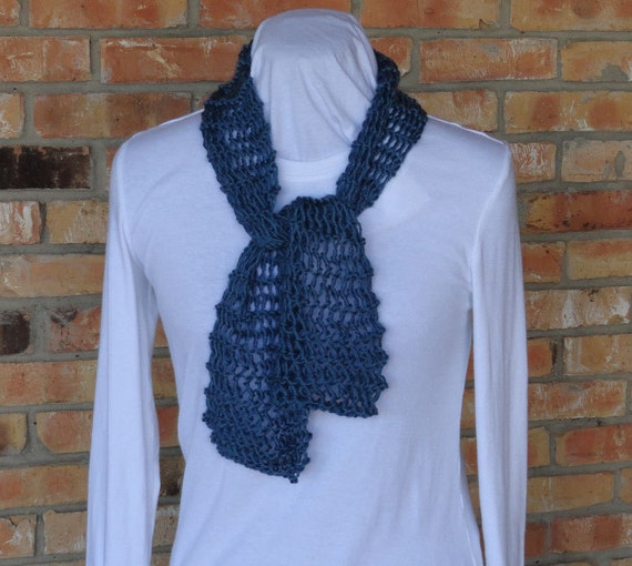Easy Lace Scarf Knitting Pattern : Knitting Pattern Easy to Knit Lace Scarf by KimberleesKorner