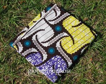 West African Wax Cotton Print Fabric - African Ankara Fabric - Cocobread - Fat Quarter