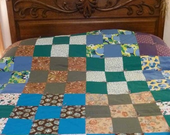 Quilt from the Heart - Traditional Nine-Patch Pattern