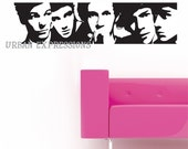 ONE DIRECTION Vinyl Wall Decal Sticker Decor