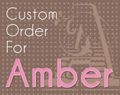 Custom Listing for Amber - Pendant Banner
