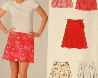 Short Skirt Sewing Pattern UNCUT New Look 6382 Sizes 6-16