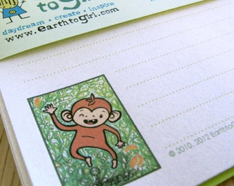 Dancing Monkey Stationery Letter Set