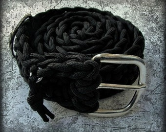 550 Paracord Outdoor Survival Belt ...From belt to rope in seconds