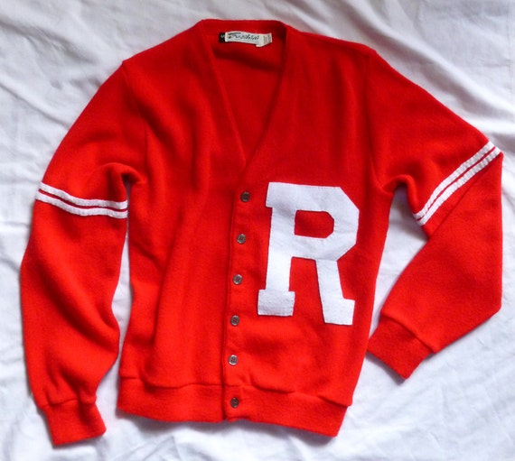 Rydell High Letterman Sweater Costume 82