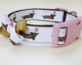 Dog Collar -  Dashound - thedoggiehouse