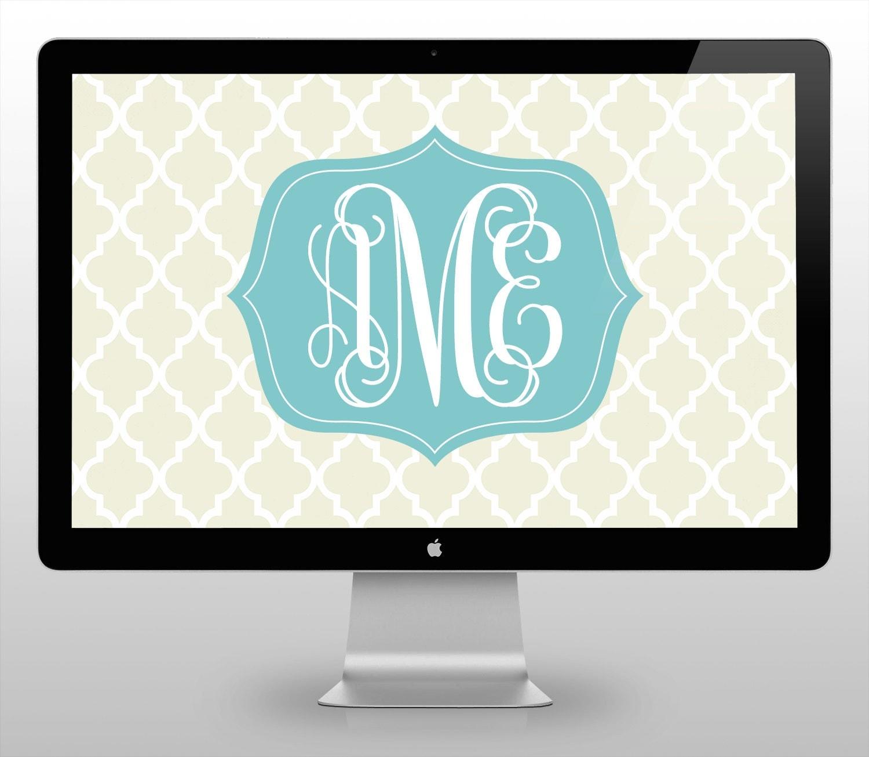 wallpaper free monogram desktop - photo #34