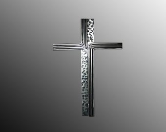 "Wall Cross 16 "" (black and clear )"