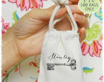 "200 3""x4"" Premium Muslin Bags 3x4 (DIY Wedding Favor, Business Branding, Gift Packaging, Product Branding)"