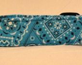 Awesome Bright Blue Bandana Dog Collar