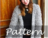 CROCHET PATTERN for The Faux Fur Coat