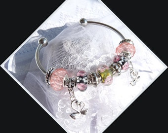 Murano Glass - Bangle Bracelet - DC 8666