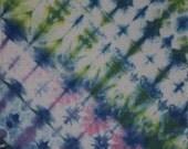 Diagonal Soft Delight Tie Dye Bandana