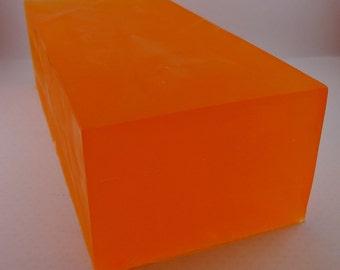 Mango Papaya Soap Loaf