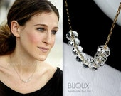 Sex and the City - Carrie Bradshaw Diamond Necklace - 14K Goldfilled Necklace