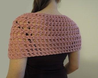 Summer Mobius Infinity Shawl Crochet Pattern