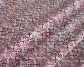 Fade-Out Collage in Red from Winter Solstice by Jason Yenter - 1 YD