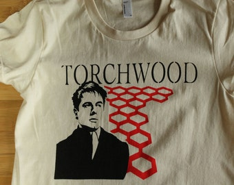 Torchwood Doctor Who Captain Jack Harkness American Apparel Womens