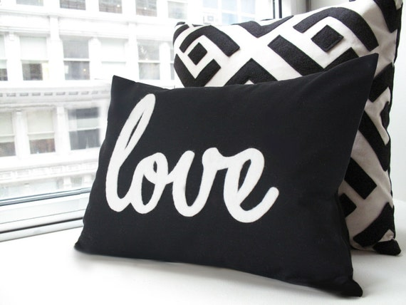 Black Love Pillow