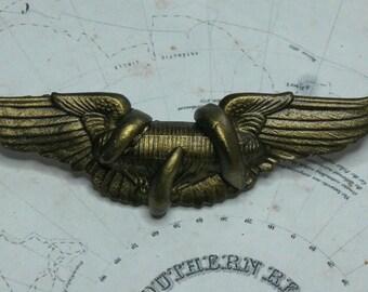 Steampunk  Air Kraken Airship Attack Survivalists Medal