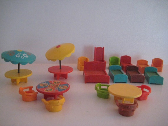 Fisher Price Little People Furniture 19 Items