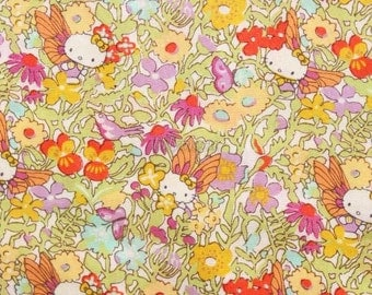 Liberty tana lawn - Fairy Tale garden - Yellow mix