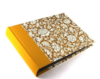 gold glow mustard yellow Photo Album Renaissance Flower, wedding album