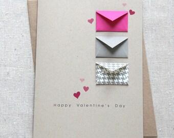 Valentine's Card - Tiny Envelopes Card
