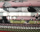 The Ghastiles from Alexander Henry  Fat Quarter bundle of all in stock fabrics,  8 total