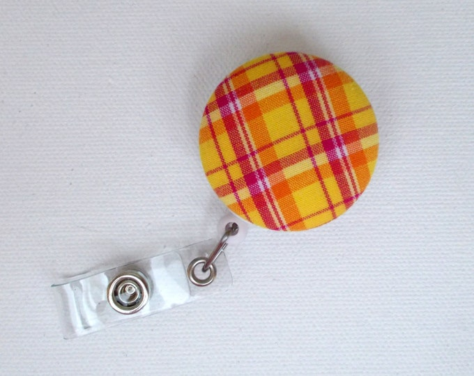 Retractable ID Badge Reel - Nurse Badge Holder - Teacher Badge Clip - Badge Pulls - Cute ID Badge Reel - Pediatric Lanyard