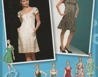 Misses Dress Sewing Pattern Simplcity  2965