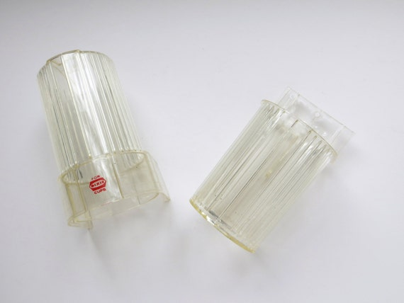 Clear Dixie Cup Dispenser Wall Mount Vintage By Iprefervintage
