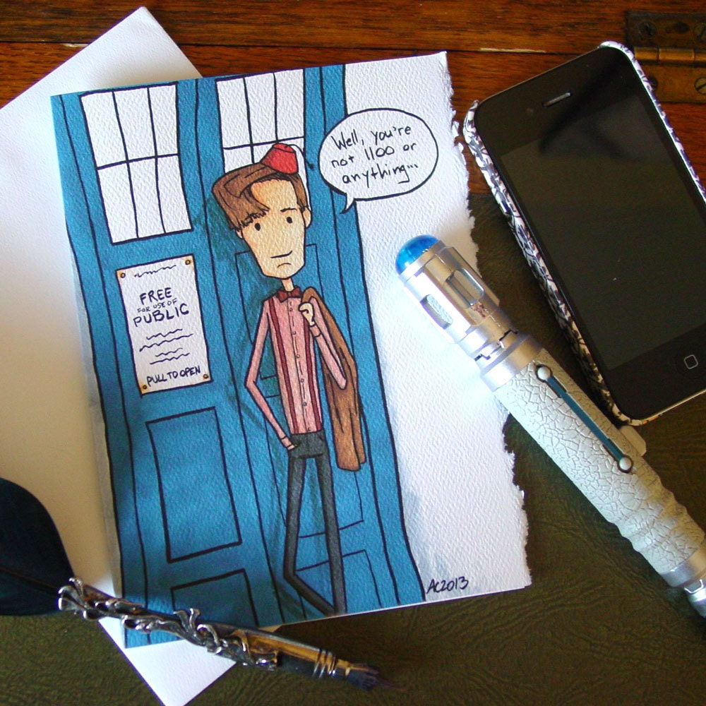 Doctor Who Birthday Card gangcraftnet – Happy Birthday Card for Doctor