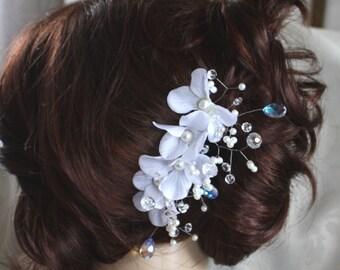 bridal hair comb hair accessory for wedding H1002
