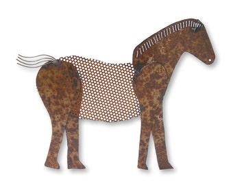 Wall Hanging Horse Equestrian Art